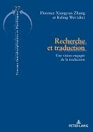 Nouvelle parution : Recherche et traduction